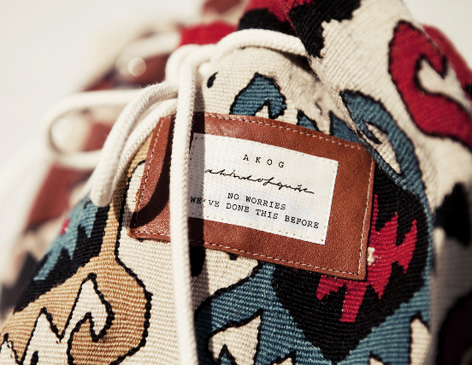 A Kind Of Guise Kilim Bag