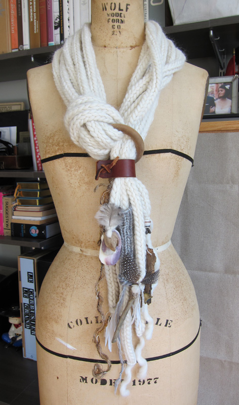 Knit Necklace Scarves